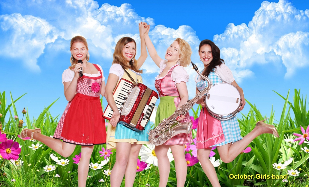 Octoberfest Band October Girls  Female Bands-4466
